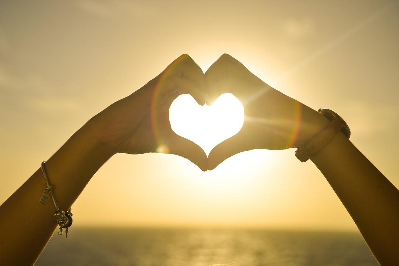 Geef handen aan je hart